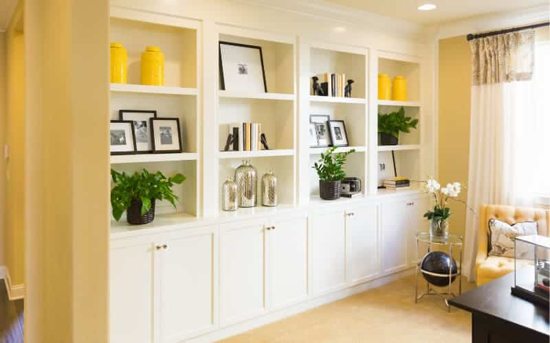 Decoration Ideas And Order With Shelves